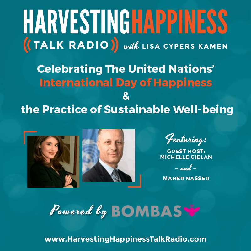 Harvesting happiness live internet talk radio best shows podcasts air date wednesday march 15 2017 fandeluxe Choice Image