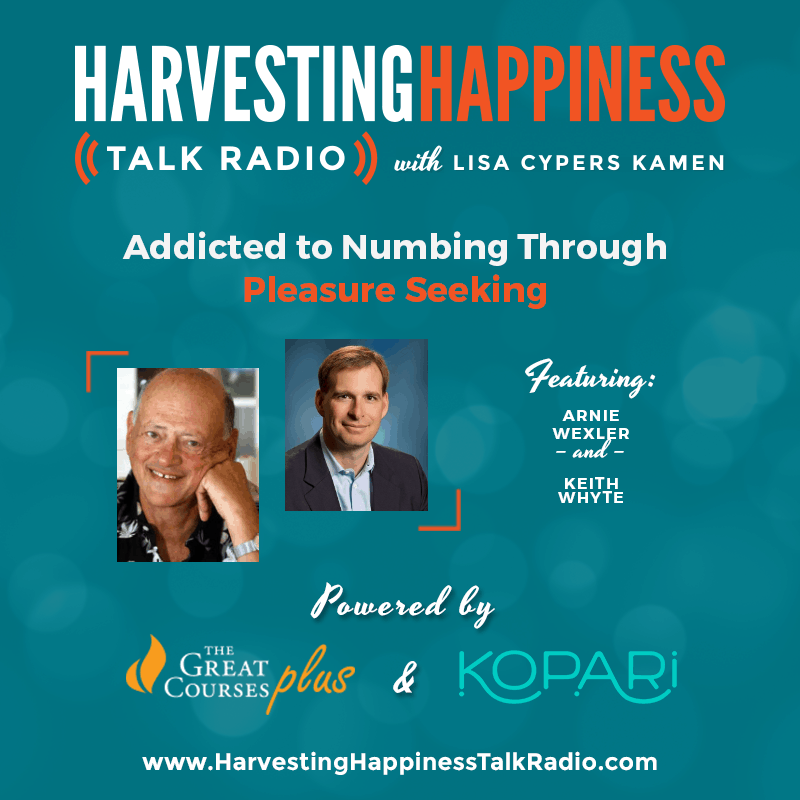 Addicted to Numbing Through Pleasure Seeking with Arnie Wexler and Keith Whyte